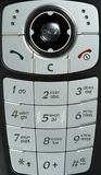 Cell phone. Keyboard, close up Stock Photography