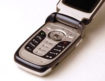 Cell phone. This is a picture of my cell phone Stock Photo