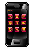 Cell phone. Stock Images