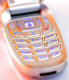 Cell phone. Wireless phone Royalty Free Stock Photography