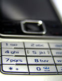 Cell phone. Dial plates detail Royalty Free Stock Images