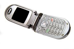 Cell phone Stock Image