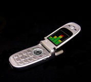 Cell Phone. A photo of a cell phone Stock Photo