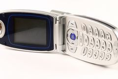 Cell Phone. A cell phone with an LCD display Royalty Free Stock Photos