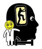 Cell Phone Addiction Treatment Stock Photos
