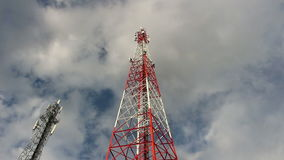 Cell phone antenna stock video footage