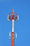 Cell phone antenna tower Stock Images