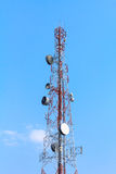 Cell Phone Antenna Tower. Royalty Free Stock Photography