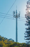 Cell Phone Antenna Tower Royalty Free Stock Photos