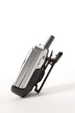 Cell Phone in Belt Clip royalty free stock images