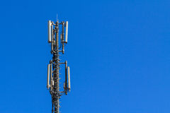 Cell phone broadcast antenna Stock Images