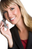 Cell Phone Businesswoman Stock Photos
