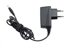 Cell phone charger Stock Photography