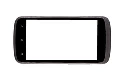 Cell phone with clipping path. Stock Photo