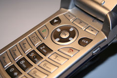 Cell Phone Close Up. Cell Phone Royalty Free Stock Photos
