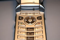 Cell Phone Close Up. Cell Phone royalty free stock images