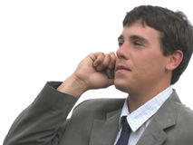 Cell Phone Communication Royalty Free Stock Images