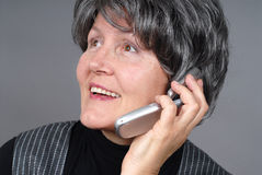 Cell phone detail Royalty Free Stock Images