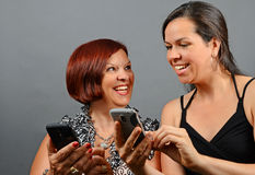 Cell Phone Fun Stock Image