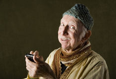 Cell Phone Guru Royalty Free Stock Photos