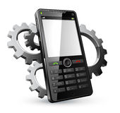 Cell phone illustration vector illustration