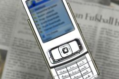 Free Cell Phone Internet Browser Stock Image - 2428291