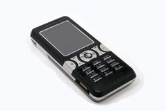 Cell phone isolated Royalty Free Stock Photo