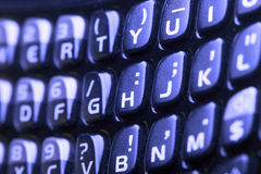 Cell phone keyboard Royalty Free Stock Photos