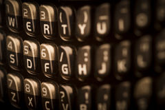 Cell phone keyboard Royalty Free Stock Image
