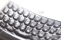 Cell phone keyboard stock photos