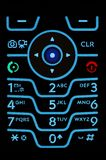 Cell Phone Keypad Royalty Free Stock Image