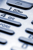 Cell phone keypad Stock Image