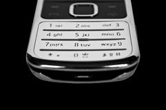 Cell phone keypad close up Stock Photo