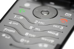 Cell Phone Keypad (Close View) Stock Image