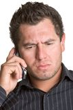 Cell Phone Man Stock Images