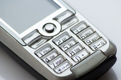Cell phone numeric keyboard Stock Images
