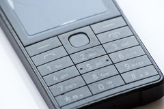 Cell phone numeric keyboard Royalty Free Stock Images