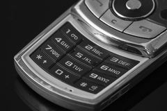 Cell phone numeric keyboard Stock Photos