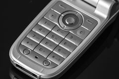 Cell phone numeric keyboard Royalty Free Stock Photo
