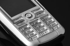 Cell phone numeric keyboard Royalty Free Stock Photography