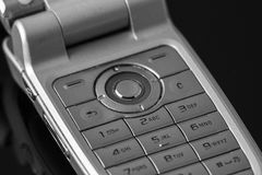 Cell phone numeric keyboard Royalty Free Stock Image