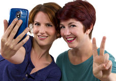 Cell Phone Pics Royalty Free Stock Photos