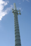 Cell Phone Relay Tower Stock Image
