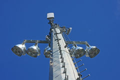 Cell Phone Relay Tower Stock Images
