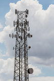 Cell Phone Repeater Towers Stock Photo