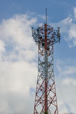 Cell phone signal station Royalty Free Stock Photography