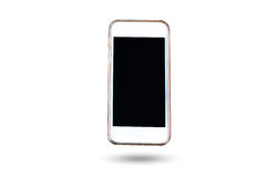 Cell Phone and smart phone in isolated background Royalty Free Stock Image
