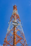 Cell phone tower Royalty Free Stock Image