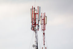 A cell phone tower gsm Royalty Free Stock Photos