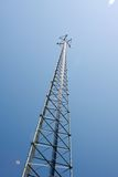 Cell Phone Tower Reflecting Sunlight Stock Photos